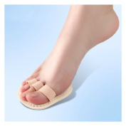 Right Foot Triple Toes Straightener Hammer Crooked Overlapping Toe Splint Corrector Separator ABBOTT