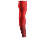 Nike Pro Baseball Flood Sleeve Size S/M Light Crimson/Varsity Red | Sold Individually