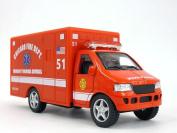 13cm Chicago (RED) Ambulance Model