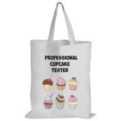 Professional Cupcake Tester - Baking / Funny Gift Idea / Novelty Gift White Shopping / Tote Bag