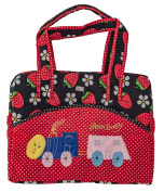 Love Baby Nappy Bag Multi-Utility Carry Bag /Transport Bag - Dbb11 Red / Navy