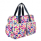 MENGMA Mummy Baby Nursing Bag Maternity Nappy Bag Large Capacity Stroller Shoulder Hand Bag