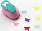 Fascola 2.5cm butterfly design eva foam punch paper puncher scrapbooking cutter hole punch craft punch for DIY artwork