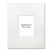 Set of 3 - 16x20 White/White Gallery Wedding Mats for 8x10 photos