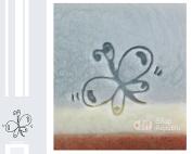 SoapRepublic Butterfly Acrylic Soap Stamp / Cookie stamp