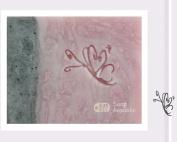 SoapRepublic Little Butterfly Acrylic Soap Stamp / Cookie stamp