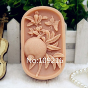 Creativemoldstore 1pcs Pomegranate (zx185) Food Grade Silicone Handmade Soap Mould Crafts DIY Mould
