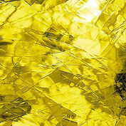 Spectrum Stained Glass Sheet : Yellow Artique