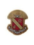 Sigma Kappa Double Raised Wood Crest Fraternity Made of Wood for Paddle Mascot Board