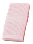 NPlusEins Pack of Price Pack Hand Towels Cotton 34 X 75 cm Terry Towel Colour as a gift, Pink, 1er/Pack