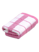 NPlusEins Pack of Price Pack Pure Cotton Special Price 35 x 75 cm Absorbent Terry Towel Hand Towel Gästehandtücher, Pink, 1er/ Pack