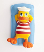 Lanco Rubber Duck on Pool Lounger