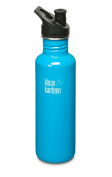 Klean Kanteen Stainless-Steel Bottle with Classic Sports Cap