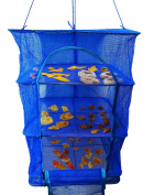 Excelife Food Dehydrator, Food Drying Net, 3 Tray, , Blue