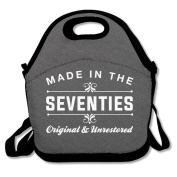 Made In The Seventies Lunch Bag Adjustable Strap