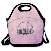 Loud Records Lunch Bag Adjustable Strap
