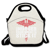 Male Nurses Know Where To Stick It Lunch Bag Adjustable Strap
