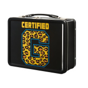 Enzo and Big Cass Certified G WWE Black Lunch Box