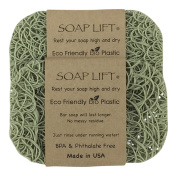 Sage Soap Lift Soap Dish, Two Pack