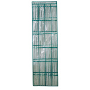 Olpchee Thickening Non Woven Fabric Over the Door Shoe Organiser 24 Clear Pockets Print Hanging Shoe Organiser with 3 Steel Hooks