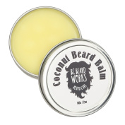 BC BEARD WORKS - Coconut Beard Balm - You Can Style And Mould Your Beard In Minutes - Condition And Groom With The Knowledge You Are Not Damaging Your Beard - Premium Product - All Natural Ingredients
