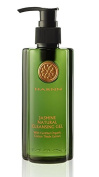 JASMINE NATURAL CLEANSING GEL with Certified ORGANIC Cotton Thistle Extract, 230ml,