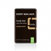Every Man Jack Body Bar, Sandalwood, 210ml