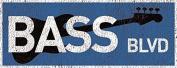 Bass Blvd Metal Sign, Music, Musician, Guitar