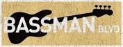 Bass Man Blvd Metal Sign, Music, Musician