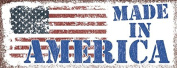 Made in America Metal Sign, USA, Flag, Patriotic, 4th of July, Independence Day