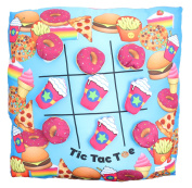 Tic Tac Toe Game Pillow the Hook and loop Donuts & Frap' Make for Hours of Fun!