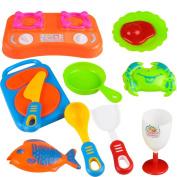Children Cooking Toy,Besde Kitchen Utensils Food Play Set Toy