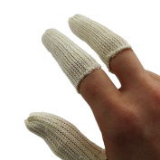 20 Cotton FINGER guards caps cots handling watch movements parts jewellers tool