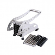 Slicer Foutou Stainless Steel French Fry Cutter Potato Vegetable Chopper Dicer 2 Blades