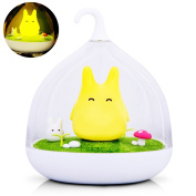 WER Children'S Night Lights Hand-held Design Touch Sensor Vibration Lamp Night Lights - Charging - for Kids, Baby ,Valentines Gift,Outdoor Lamp