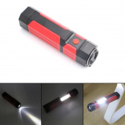 New Retractable COB LED Magnetic Work Light Inspection Flashlight Lamp Torch,Tuscom