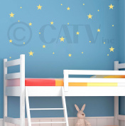 Stars assorted self adhesive wall pattern stickers