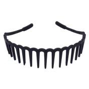 Special Boys and Girls Wave Antislip Hairband Teeth Hair Hoop Head Buckle, 13 Long Teeth Section