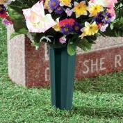Memorial Cemetery Grave Flower Vase Funeral Spike Pot