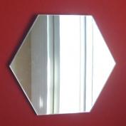 Hexagon Mirror - 12cm x 12cm