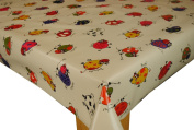 Funky Cows Vinyl tablecloth table cover by Karina Home