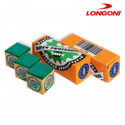 3 pcs of Longoni NIR Super Professional Pool cue Billiard CHALK - Green