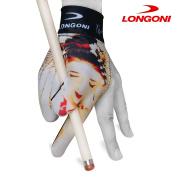 LONGONI Billiard POOL CUE GLOVE Fancy Hot Lips 1 for Left hand
