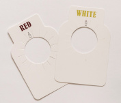 Stately Wine Bottle Neck Tags, premium, 100, dual-sided, paper, durable