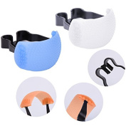 Stebcece 3 Colours 3 in 1 Pop-up Flash Diffuser Kit For Canon Nikon Olympus Adjustable