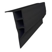 Dock Edge Full Face PVC Profile Dock Guard, Black, 4.9m