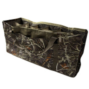 Slotted Decoy Bag with 12 Pockets Designed to Protect Decoys