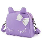 Pinky Family Cute Cat Ear Kids Handbags PU Leather Crossbody Bags and Backpacks