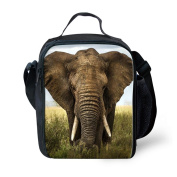 Showudesigns Tide Elephant Lunch Bag for Toddler Upright Child Lunchbags