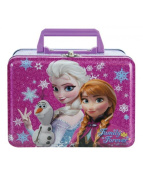 Disney Frozen Family Forever Large Tin Lunch Box with Handle